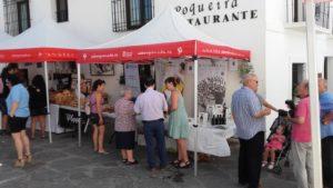Fiesta artesanos en Capileira