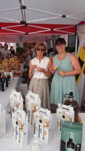 Matilde y Ana, nuestras compañeras en Capileira